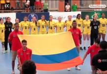 selección Colombia de balonmano femenino participa en el Challenge Trophy