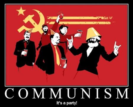 Communism : it's a party