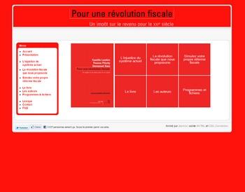 Le site de révolution fuscale qui pique les yeux, vu de loin.