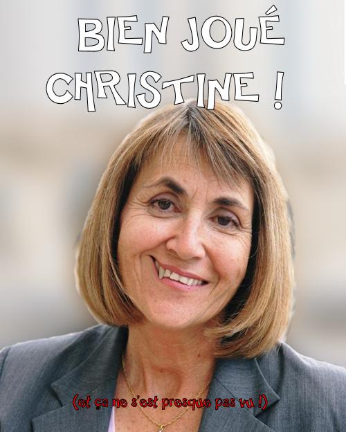 Sacré Crissine Albanel