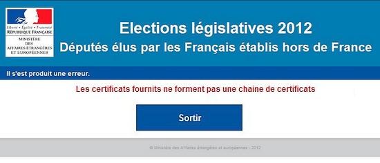 Vote électronique : Ah bah non, ça ne marche toujours pas