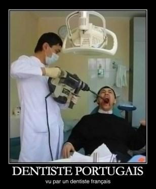 dentiste portugais vu par un dentiste français