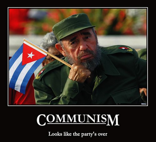 communism party is over