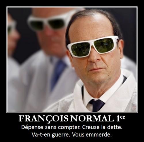 François Normal premier vous emmerde