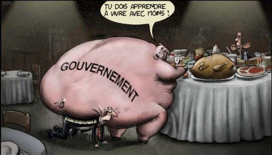 """austérité : """"tu dois apprendre à vivre avec moins"""""""