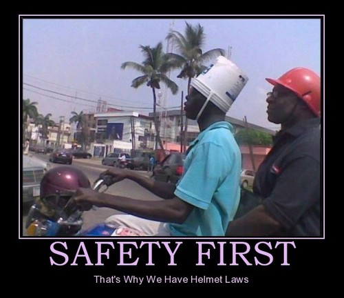 safety first !