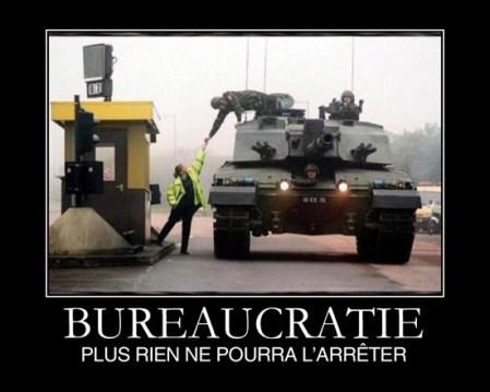 bureaucratie : rien ne pourra plus l'arrêter !