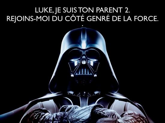 dark vador, parent 2 de luke