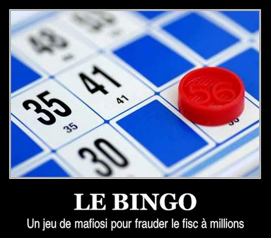 le bingo, un jeu de mafiosi