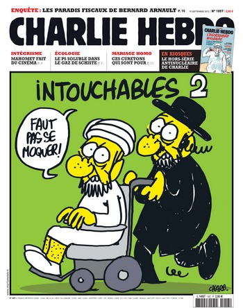 charlie hebdo intouchables
