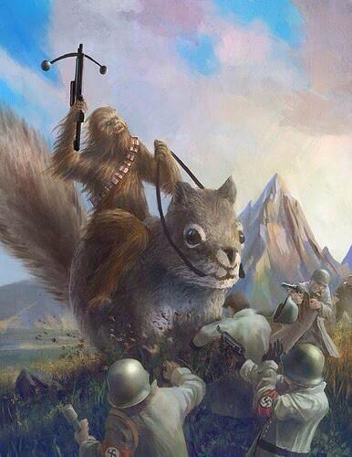 chewbacca écureuil nazi wtf