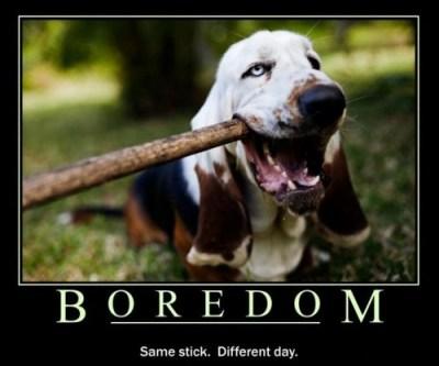 boredom - ennui