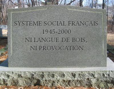système social français