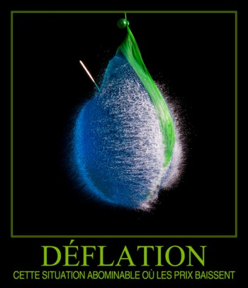 déflation - quand les prix baissent