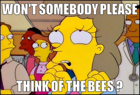 think of the bees