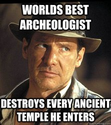 Indiana Jones - world best archeologist