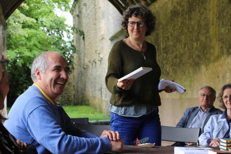 Olivier Labbé et Nathalie Laureau.