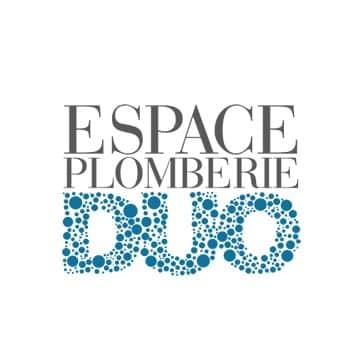 Logo Espace plomberie duo, partenaire Nobua