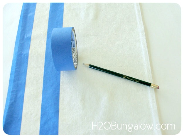 DIY-Patriotic-Table-Runner-Stripes-H2OBungalow