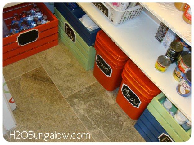 Custom storage bins and crates for organization