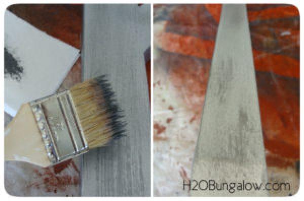 Step 2 faux metal paint techniques