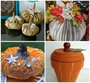 abstract creative pumpkin decorating ideas