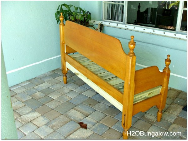 Make-A-Beanch-From-A-Headboard-Frame-H2OBungaow