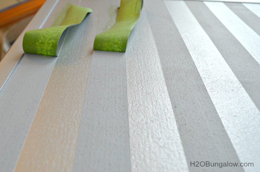 Use-Tape-To-Make-Perfect-Stripes-H2OBungalow