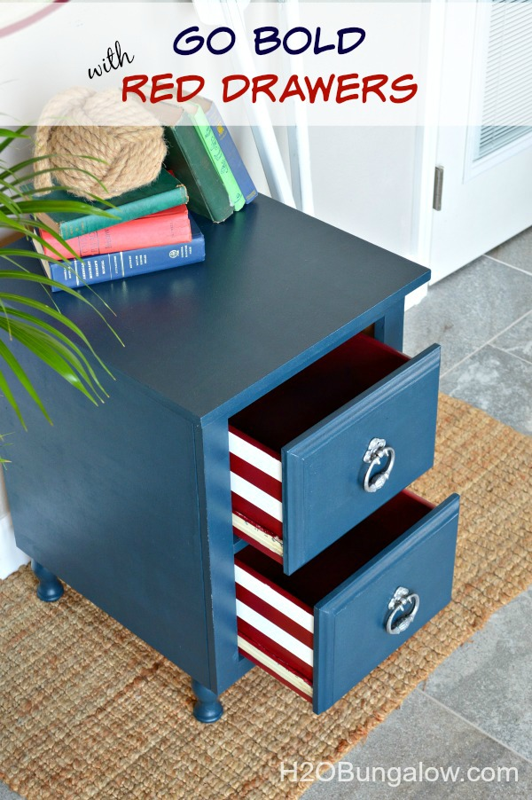 Blue-nightstand-with-deep-red-drawers-H2OBungalow