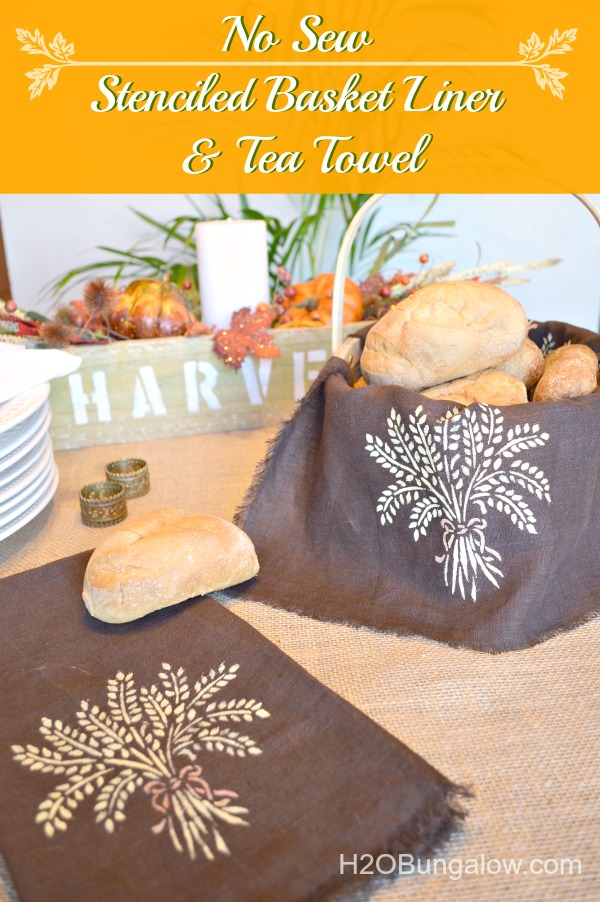 No-sew-easy-linen-stenciled-bread-basket-or-tea-towel-hostess-gift-idea-H2OBungalow