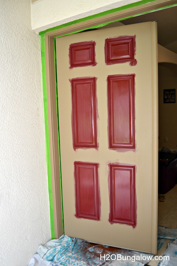 Steps-to-perfect-front-door-painting-H2OBungalow