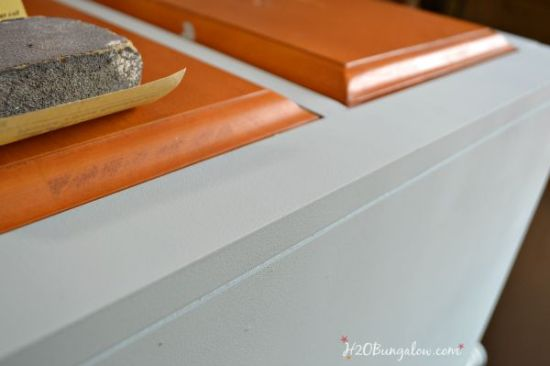 Let's start with my first tip for refinishing furniture.  #1. Start with a quality piece that is sturdy and clean.