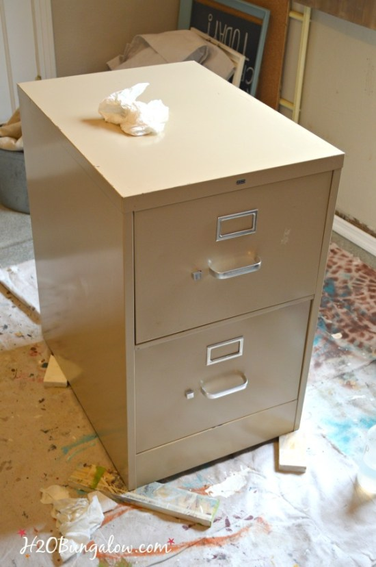 Upcycled-file-cabinet-before-H2OBungalow