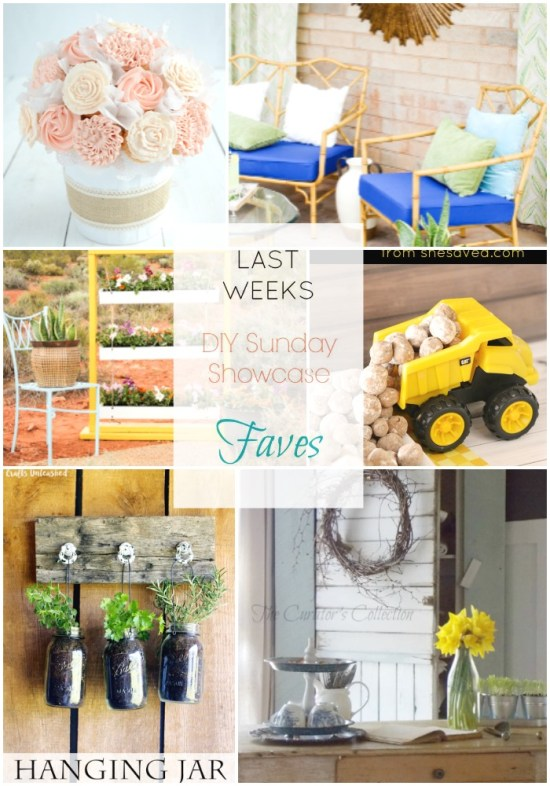 DIY Sunday Showcase features of the week. Stop by to see this and 5 more fantastic makeovers from talented bloggers! H2OBungalow