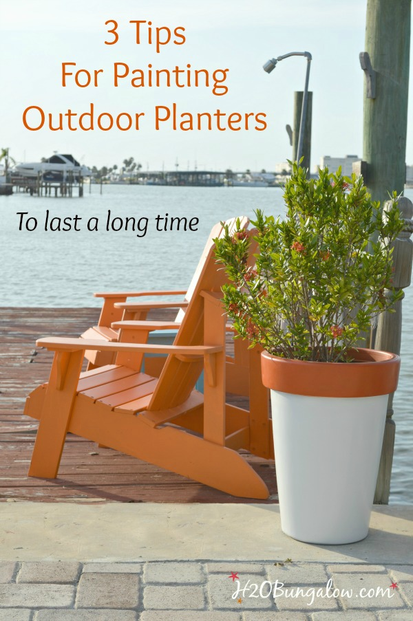 High Quality Simple Tutorial With 3 Tips For Painting Outdoor Planters And Your Outdoor  Paint Project Will Last