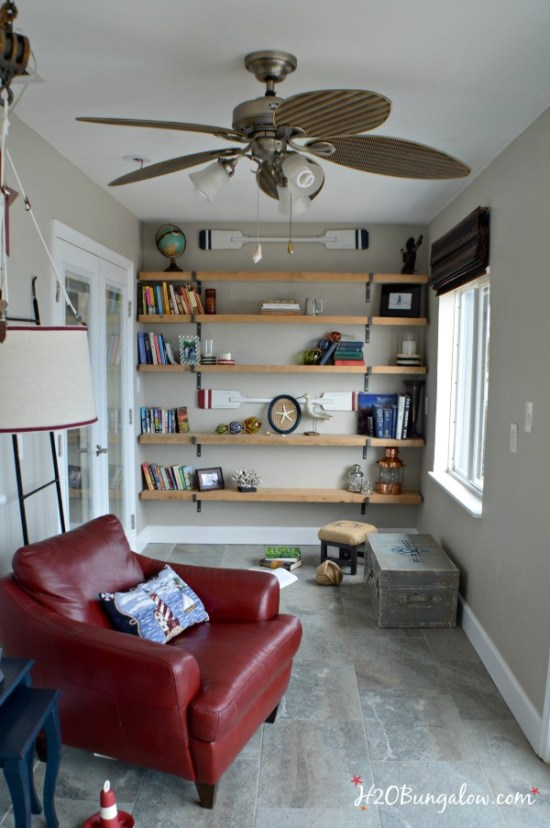 How to create a reading nook in seven simple steps. Easy tutorial list of must have items to create a relaxing spot to read in that looks as good as it feels. By H2OBungalow