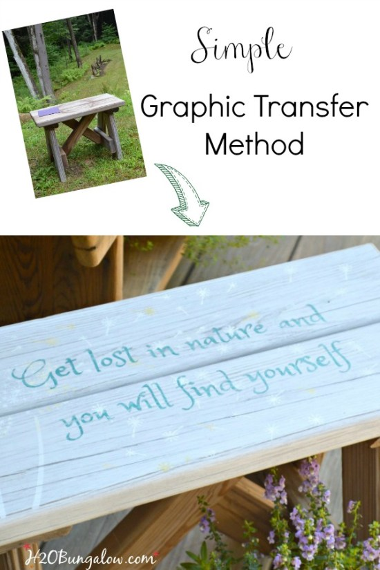 Easy tutorial on how to transfer graphics to paint on a flat surface. Simple method for any skill level works great for images or graphics. Simple tutorial by H2OBungalow