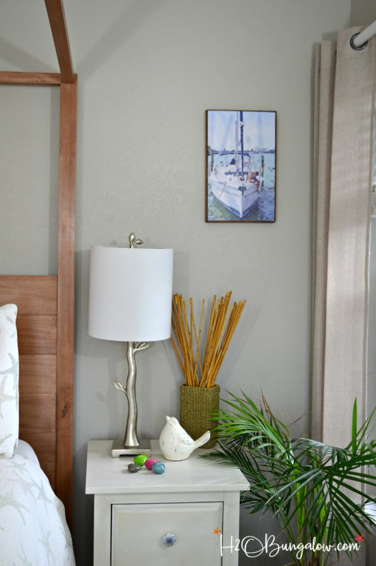 Easy DIY Photo Into Faux Canvas Print tutorial. Take any photo and make a faux canvas art for your home. Easy, inexpensive and looks great!