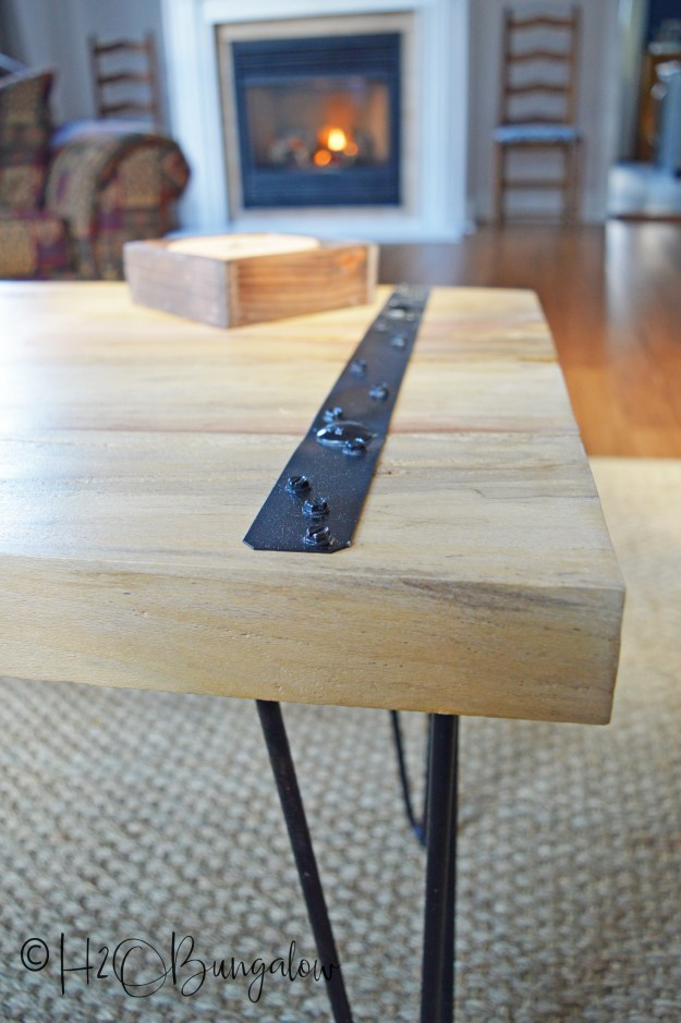 diy rustic coffee table tutorial - h20bungalow