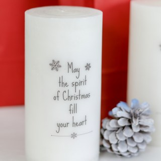 How to add words to candles tutorial and video
