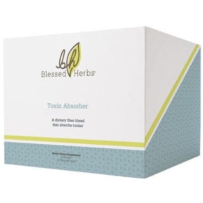 blessed herbs toxin absorber a natural detoxification and best for colon cleanse