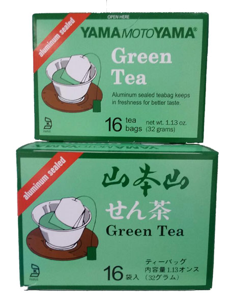 YamaMotoYama sencha Green Tea improves immune system and burn fat
