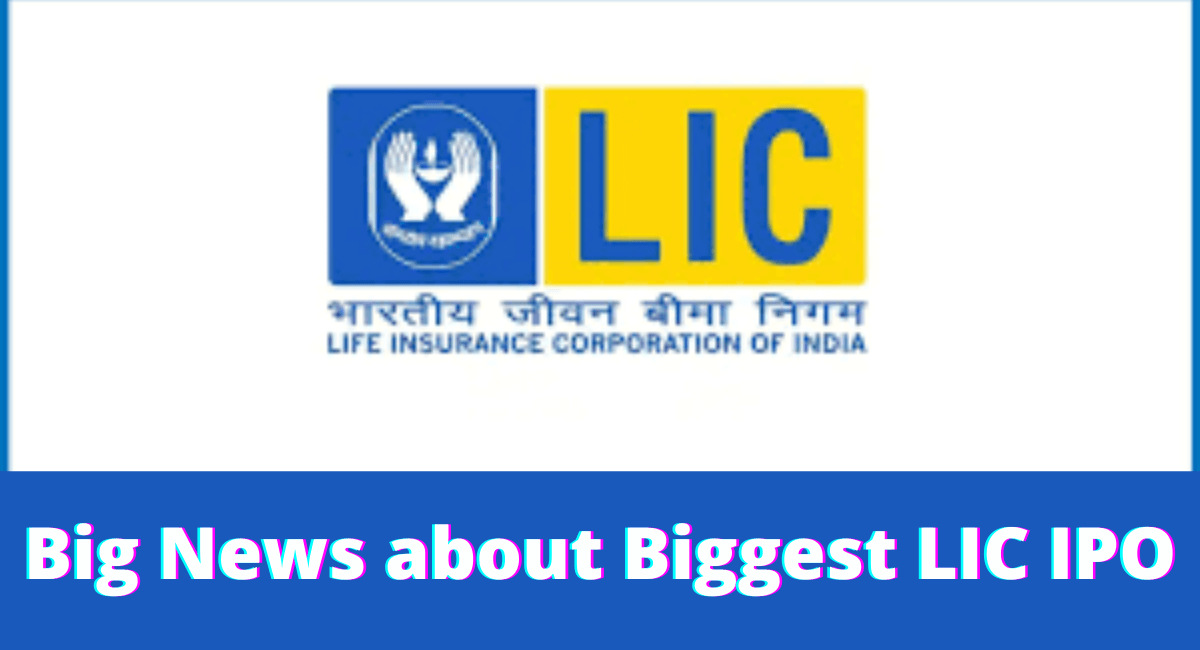 Big news about biggest LIC IPO