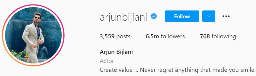 Biography of Arjun Bijlani