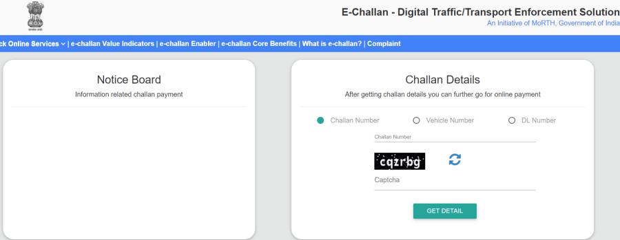 TS E Challan Telangana