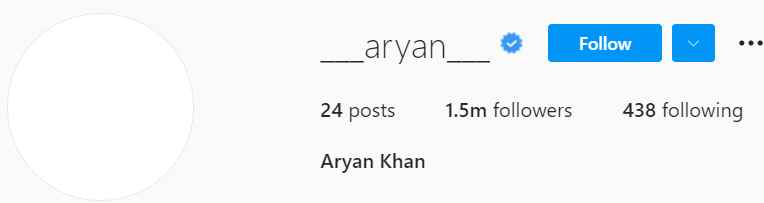 Biography of Aryan Khan