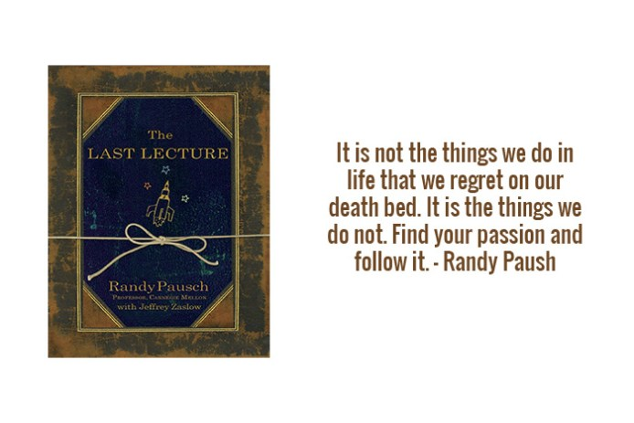 H360 Online Issue 02 - Book Review The Last Lecture