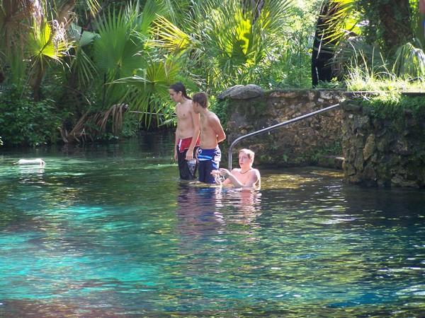 Juniper Springs - the spring fed pool!