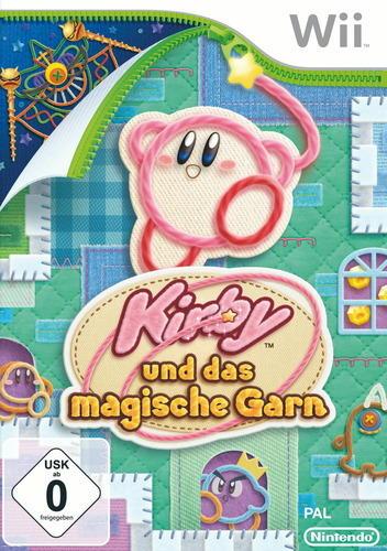 Kirby und das magische Garn Wii Cover PAL