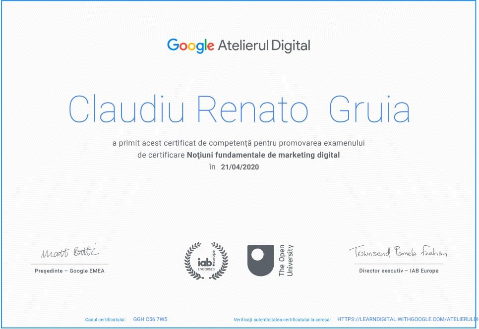 certificat-google-atelierul-digital-consultanta-marketing-online-gruia-claudiu-renato